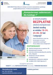 Komputerowe vademecum dla każdego! – woj. opolskie
