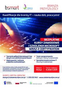 Kwalifikacje dla branży IT – nauka dziś, praca jutro! – woj. warmińsko-mazurskie