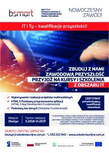 IT i Ty – kwalifikacje przyszłości! – woj. warmińsko-mazurskie